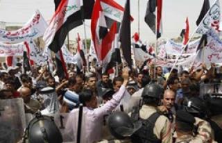Irak'ta Türkiye Karşıtı Eylem