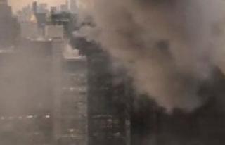 Trump Tower'de Yangın!