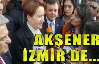 Akşener İzmir'e Geldi