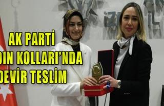 AK Parti Kadın Kolları devir teslim yaptı