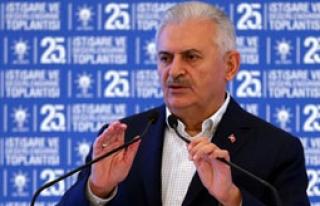Başbakan'dan CHP'ye Çağrı
