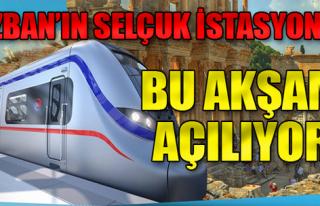 İzmir İZBAN Selçuk ve Sağlık İstasyonları Açılıyor