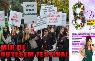 İzmir'de 8 Mart Coşkusu Büyük Olacak