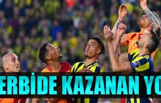 Fenerbahçe ile Galatasaray yenişemedi