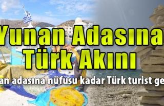 Yunan Adasına Nüfusu Kadar Türk Turist Geldi