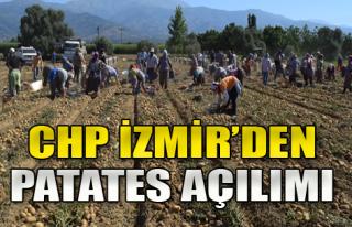 CHP İzmir, Ödemiş'te Tarlaya Girecek