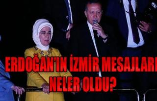 Erdoğan, İzmir'de On Binlere Seslendi