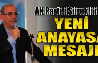 Sürekli'den Karşıyaka'da 'Yeni Anayasa' Mesajı