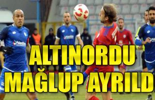 B.B. Erzurumspor: 2 - Altınordu: 1