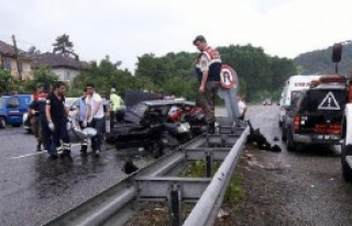 Zonguldak'ta Kaza: 2 Ölü