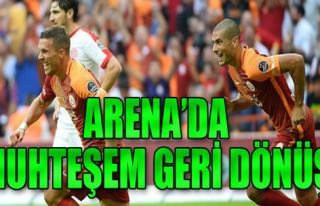 Galatasaray 3-1 Antalyaspor