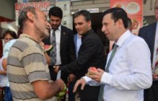 'AK  Parti Bu Ülkenin Çimentosudur'