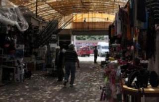 Trabzon'da Dolu Avrasya Pazarı'nın Çatısını...