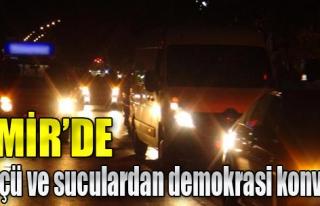 Tüpçü Ve Suculardan Demokrasi Konvoyu