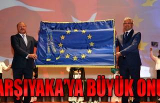 'Avrupa Şeref Bayrağı' Karşıyaka'nın