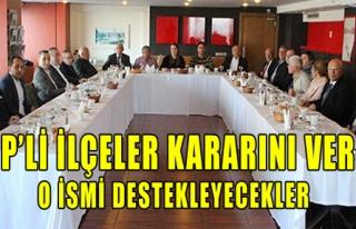 CHP'li İlçeler Kararını Verdi