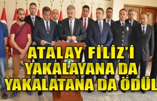 İzmir Valiliği'nde Ödül Töreni