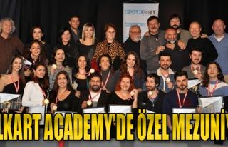 Folkart Academy'de Özel Mezuniyet