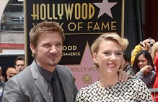 Johansson Şöhretler Kaldırımı'nda