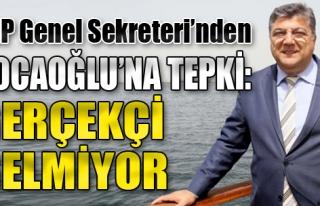 CHP Genel Sekreteri'nden Kocaoğlu'na Tepki