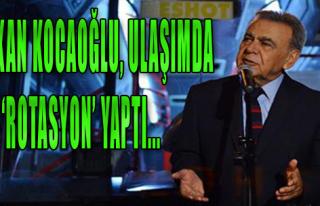 Başkan Kocaoğlu, ulaşımda 'rotasyon' yaptı