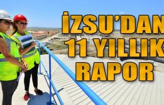 İZSU'dan 11 Yıllık Rapor