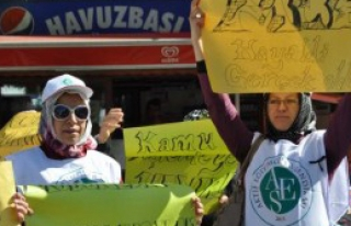 Adıyaman'da Protesto