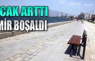 Sıcak Arttı İzmir Boşaldı