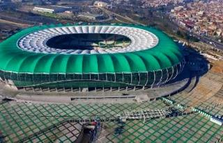 Timsah Arena'yı Cumhurbaşkanı Açıyor