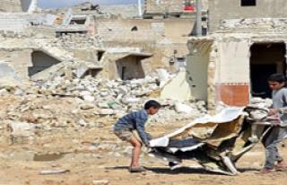 Suriye'de Çocuk Katliamı