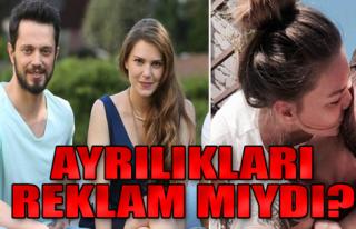 Murat Boz, Aslı Enver Ayrılığı Reklam mı?