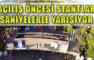 Tüm Çaba İzmir Enternasyonal Fuarı İçin