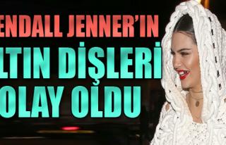 Kendall Jenner'ın Altın Dişleri Olay Oldu