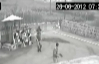 Trabzon'daki Saldırı Kamerada!