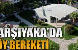 KARŞIYAKA'DA KÖY BEREKETİ