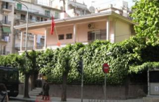 Elçilik Binamıza Molotoflu Saldırı!