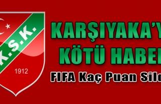 FIFA'dan Karşıyaka'ya Ceza