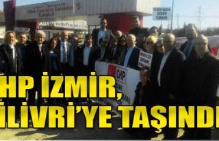 CHP İzmir İl Yönetimi'nin Silivri Nöbeti