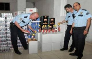 İzmir'de Kaçak İçki Operasyonu
