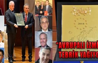 'İzmir Bu Ödülü Fazlasıyla Hak Etti'