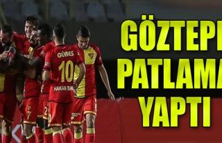 Göztepe'den Gol Şov
