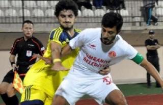 Tarsus İdmanyurdu-Ümraniyespor : 0-1