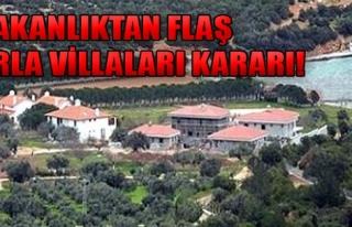 Urla Villaları İçin Karar Verildi!