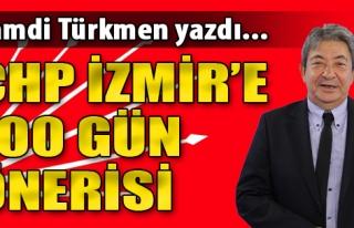 CHP İzmir'e 100 Gün Önerisi