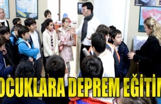 Çocuklara Deprem Eğitimi