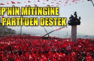 CHP'nin Mitingine AK Parti'den Destek