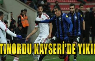 Kayseri Erciyesspor 4-1 Altınordu