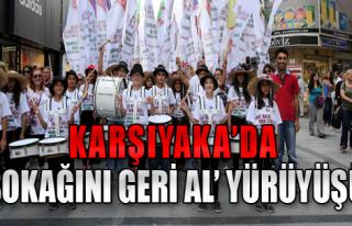 Karşıyaka'da Renkli Yürüyüş