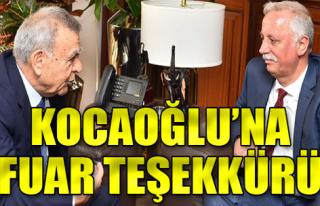 Mobilyacılardan Kocaoğlu'na Fuar İzmir teşekkürü