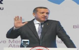 Erdoğan'dan Atama Konuşması